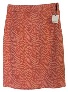 Calvin Klein Pencil Gold Embroidered Career Work Skirt