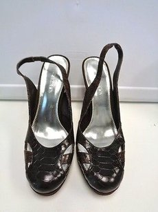 Calvin Klein Jalel Dark Brown Pumps