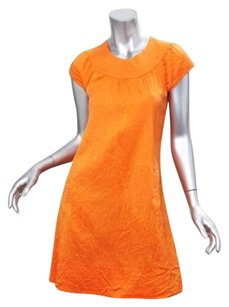 Calypso short dress Orange Womens Crew on Tradesy