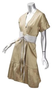 Calypso St. Barth short dress Gold Christiane Celle on Tradesy