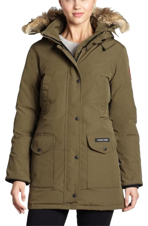 canada goose rossclair parka military green