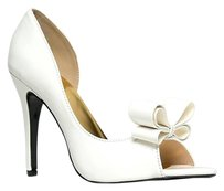 Cape Robbin White Pumps