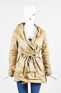 Carmen Marc Valvo Collection Gold Jacket