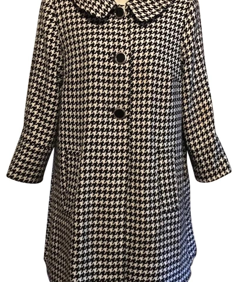 Houndstooth coats for women