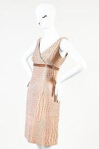 Carmen Marc Valvo Mauve Dress