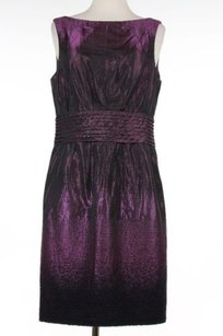 Carmen Marc Valvo Womens Black Dress