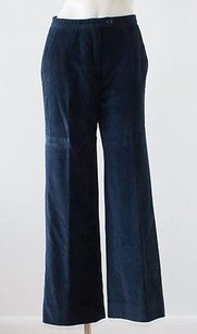 Carolina Herrera Cashmere Blend Wide Leg Corduroy Trousers Hs1742 Pants