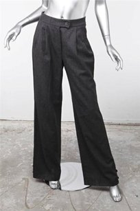 Carolina Herrera Gray Wool Pants