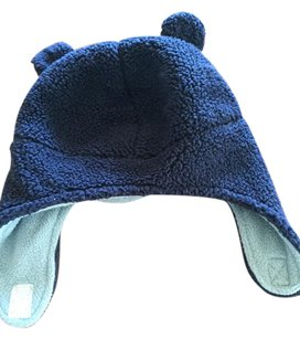 Carter's Carter's baby boy fleece Velcro hat