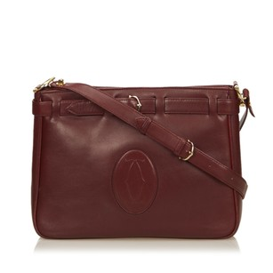 Cartier Bordeau Leather Others Shoulder Bag