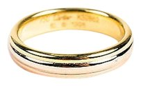 Cartier Cartier 18k Rose White Yellow Gold Tricolor Stacked Ring