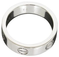 Cartier Cartier 18K White Gold Love Ring US SZIE 6.25