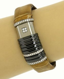 Cartier Cartier 18k White Gold Titanium Diamond Declaration Ladies Wrist Watch