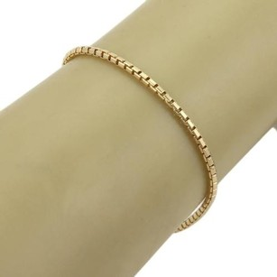 Cartier Cartier 18k Yellow Gold Box Chain Link Bracelet