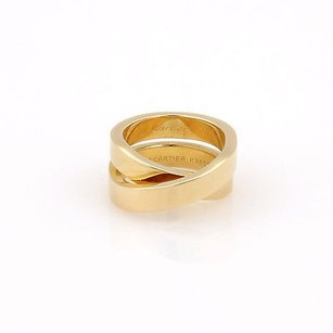 Cartier Cartier 18k Yellow Gold Nouvelle Vague Paris Crossover X Designer Ring -