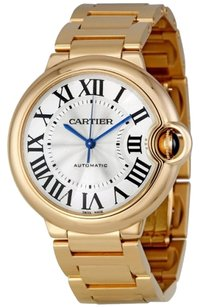 Cartier CARTIER Ballon Bleu Medium 18k Rose Gold Watch W69004Z2