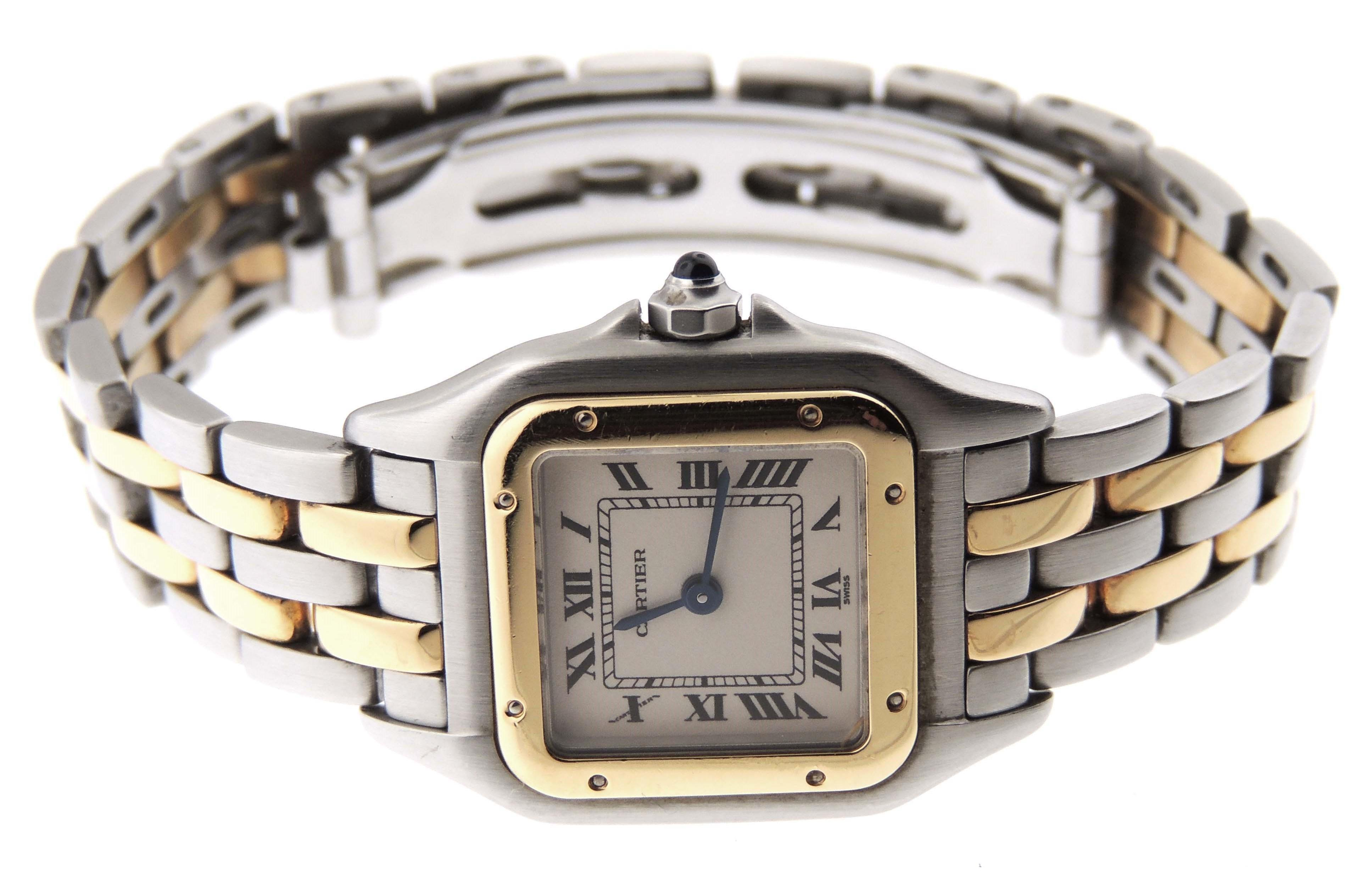 Cartier Panthere 18k Yellow Gold Watch