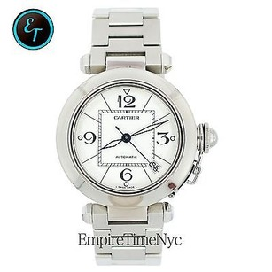 Cartier Cartier Pasha C 2324 Stainless Steel Automatic White Dial Self-winding Unisex