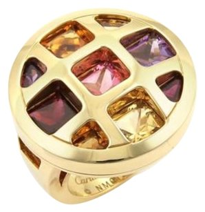 Cartier Cartier Pasha De Cartier Multi-gem 18k Yellow Gold Ring Eu 50-us