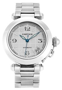 Cartier CARTIER PASHA W31023M7 STAINLESS STEEL MEN'S WATCH