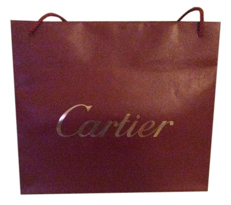 Cartier Red Paper Shopping Bag