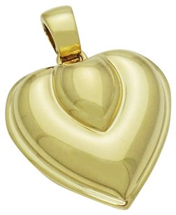 Cartier Cartier Retro 1991 18k Yellow Gold Heart Charm Pendant N79