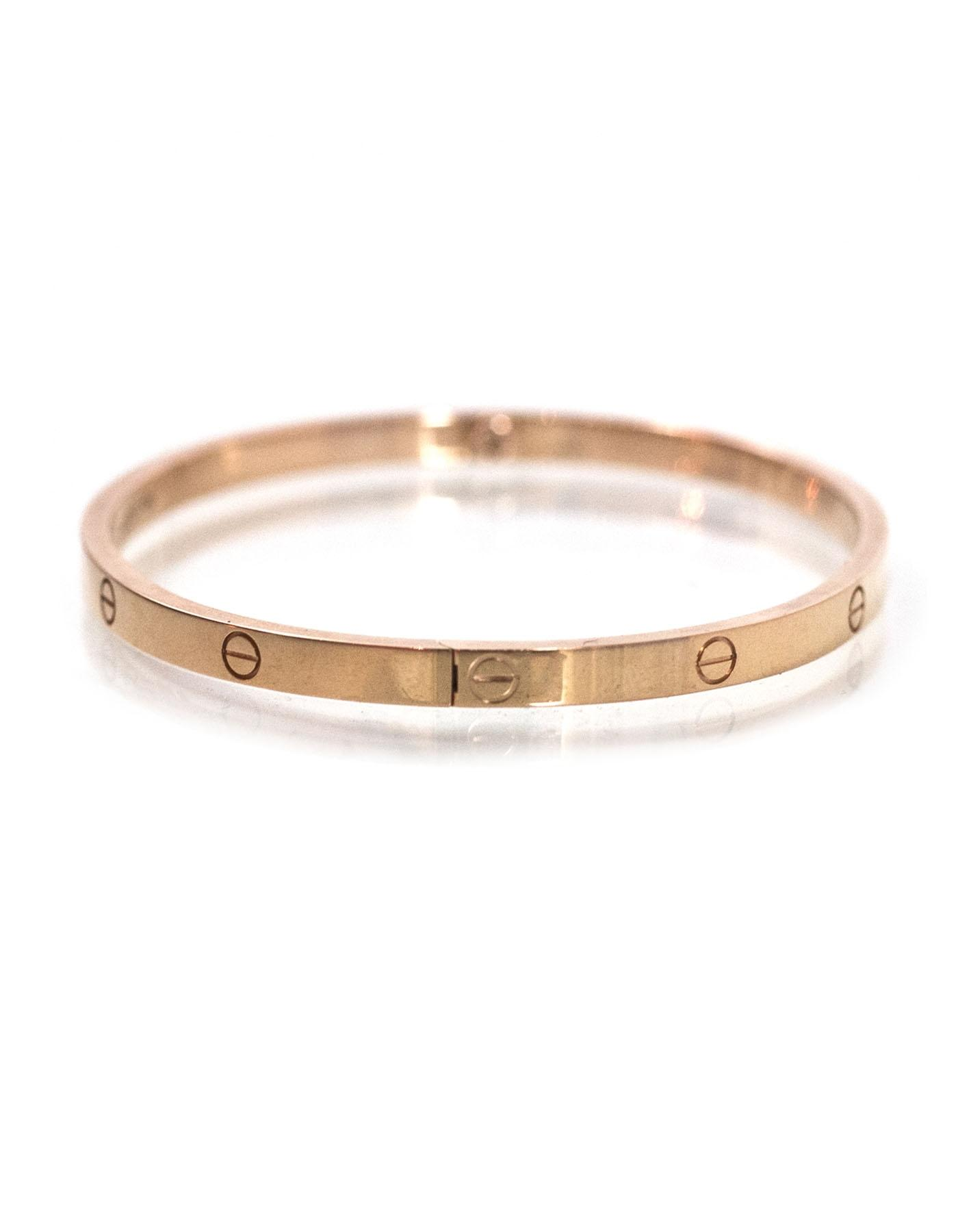cartier bracelet small cartier pink gold small with box bracelet