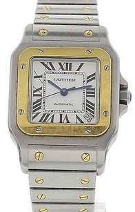 Cartier Cartier Santos Galbe W20099c4 18k Yg Ss Automatic 2823 Boxpapers