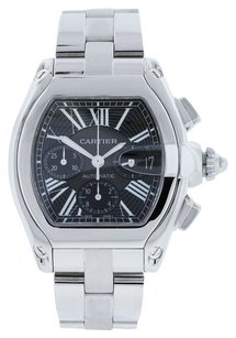 Cartier Cartier Roadster XL Chronograph Stainless Steel Men's Watch Ref W62020X6