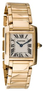 Cartier Cartier Tank Francaise Yellow Gold Quartz Watch 2385