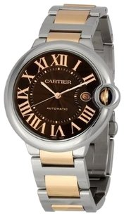 Cartier Cartier Unisex W6920032 Ballon Bleu Chocolate Brown Dial Men's Watch