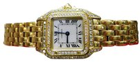 Cartier Cartier Panther Panthere Diamond Solid 18k Yellow Gold Ladies Watch