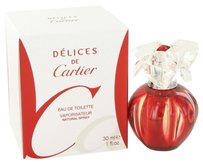 Cartier Delices De Cartier By Cartier Eau De Toilette Spray 1 Oz