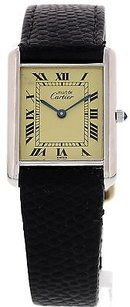 Cartier Mens Ladies Vintage Must De Cartier Tank 46548