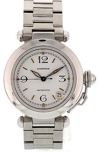 Cartier Mens Stainless Steel Cartier Pasha Automatic 1031