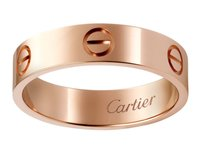 Cartier LOVE RING PINK GOLD SZ 50 (18976)