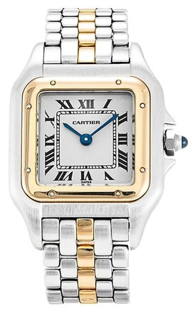 Preload https://item1.tradesy.com/images/cartier-silver-gold-panthere-w25029b5-steel-and-yellow-godl-ladies-watch-6191125-0-0.jpg?width=440&height=440