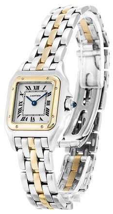 Cartier CARTIER PANTHERE W25029B5 STEEL AND YELLOW GODL LADIES WATCH