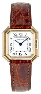 Cartier Vintage 1970s Women's Ceinture W711 18k Yellow Gold Mechanical Dress Watch CRTLYT