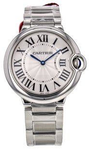 Cartier Women's Ballon Bleu 36mm W69011Z4 Stainless Steel Quartz Watch