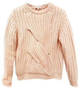 Carven Wool Pullover Chunky Sweater
