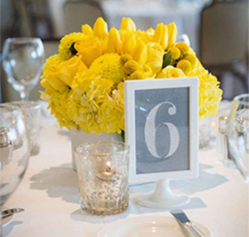 Wedding centerpieces, mercury glass, mason jars, table numbers, vases and more