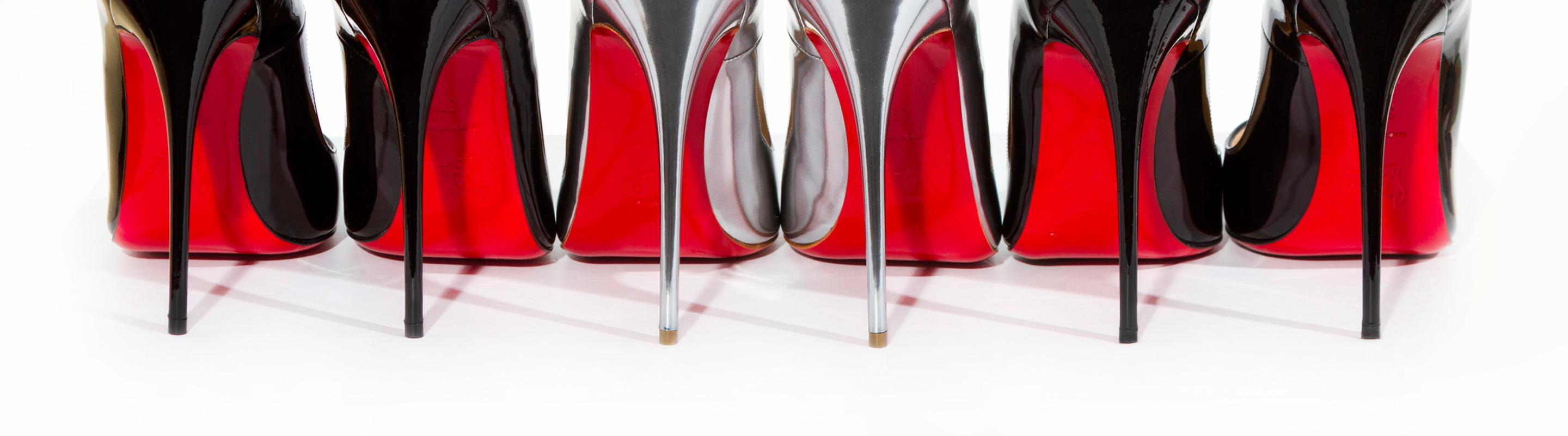 Christian Louboutin Christian Louboutin. Created in 1993, Christian  Louboutin\u0027s signature red-bottom heels ...