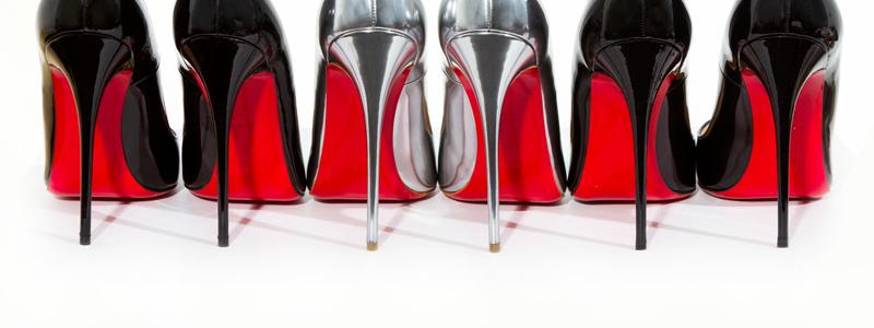 dd9b7d68eb Christian Louboutin. Created in 1993, Christian Louboutin's signature red-bottom  heels ...