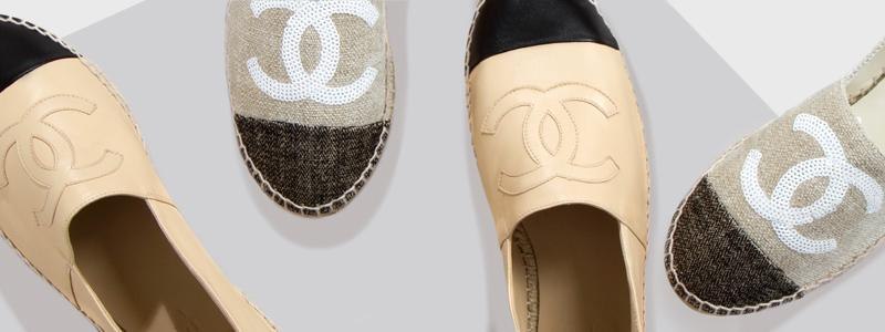 507ffbd019cc27 Chanel Espadrilles on Sale - Up to 70% off at Tradesy