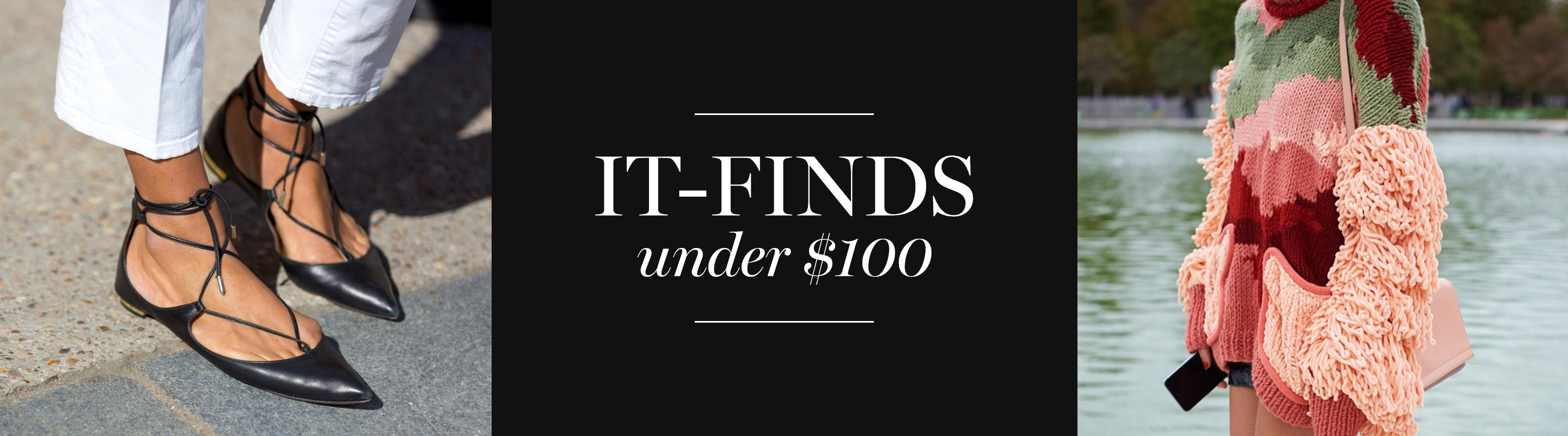 It-Finds Under $100