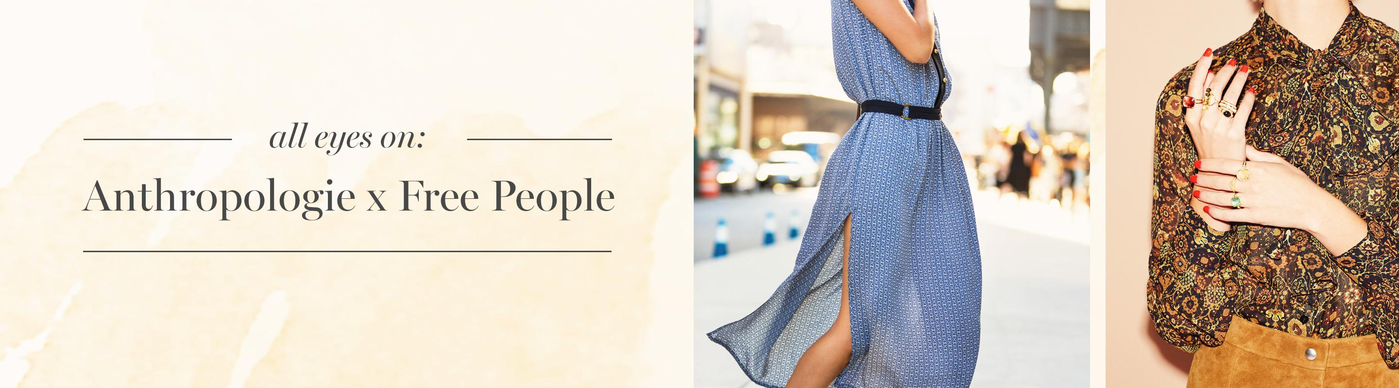 Dream Duo: Anthropologie X Free People