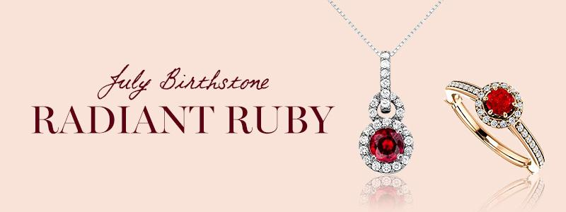 July Birthstone Spotlight: Radiant Ruby