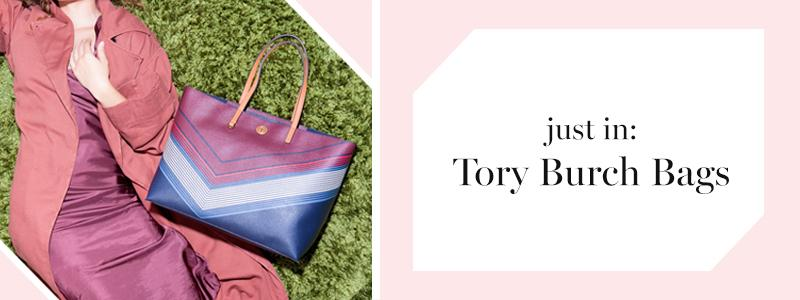 Just In: Tory Burch Bags