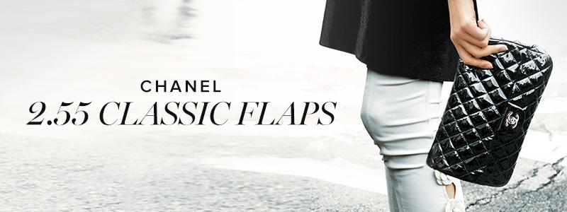 Chanel 2.55 Classic Flaps